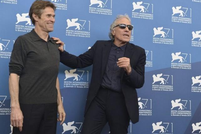 Le réalisateur Abel Ferrara (à droite) et son... (Photo: AFP)