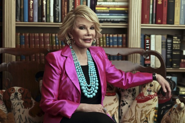 Joan Rivers... (Photo: archives The New York Times)