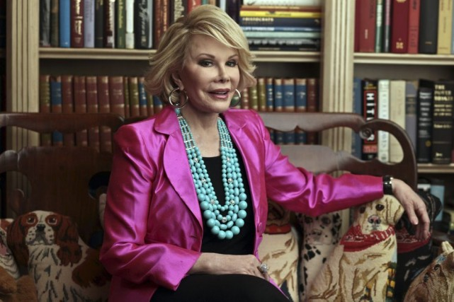 Joan Rivers en 2010.... (Photo: archives The New York Times)