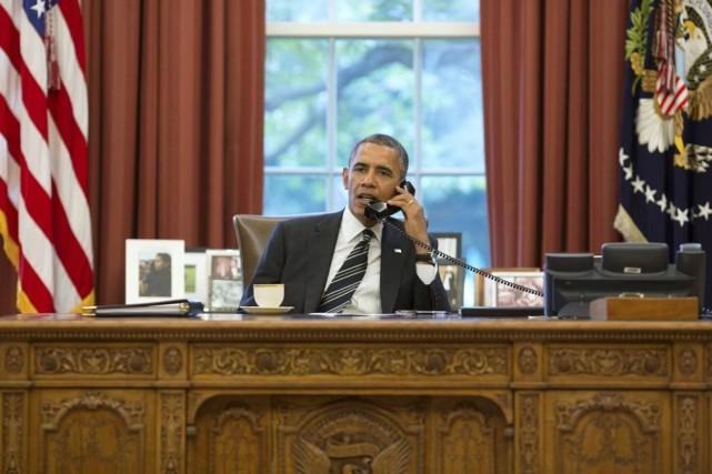 BarackObama est connu pour avoir utilisé au cours... (Photo fournie par la Maison-Blanche)
