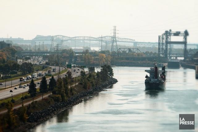 L'augmentation du trafic sur la voie maritimedu Saint-Laurent... (PHOTO BERNARD BRAULT, ARCHIVES LA PRESSE)