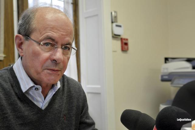L'ancien chef de l'ERD, Paul Grimard.... (Photo Le Quotidien, Rocket Lavoie)