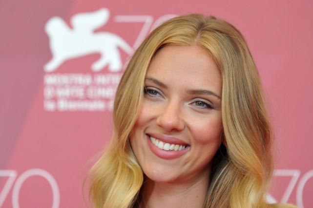 Scarlett Johansson... (Photo TIZIANA FABI, AFP)