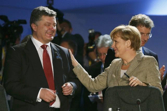 «Les leaders ont [entre autres] exprimé leur solide... (Photo ALAIN JOCARD, AFP)