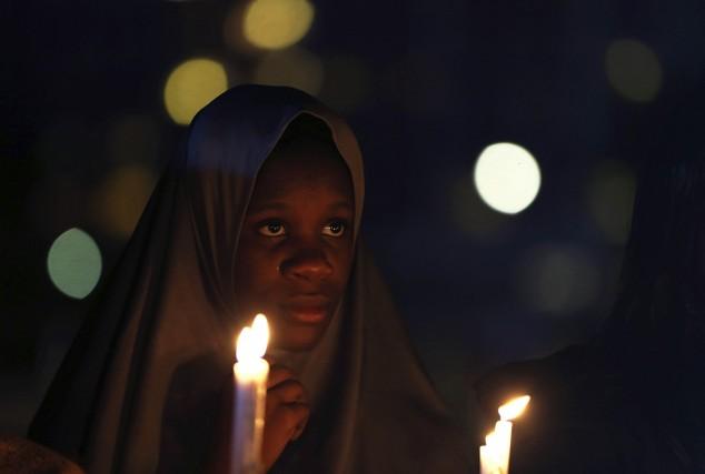 L'une des leaders du mouvement «Ramenez nos filles»... (Photo AFOLABI SOTUNDE, Reuters)