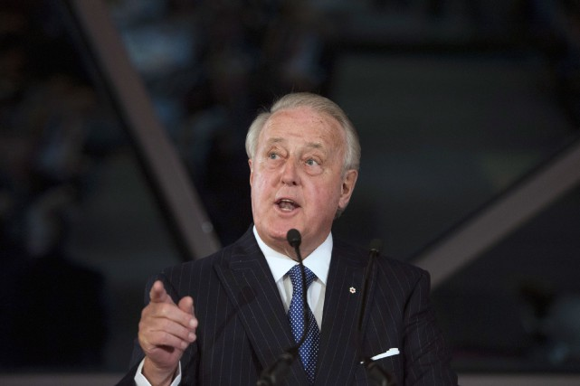 Brian Mulroney.... (Photo Justin Tang, Archives PC)