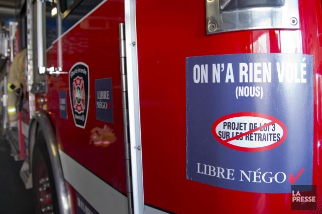 Selon l'Association des chefs en sécurité incendie au... (PHOTO ALAIN ROBERGE, ARCHIVES LA PRESSE)