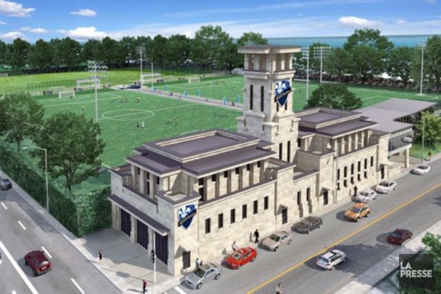 Le futur centre d'entraînement de l'Impact.... (Photo fournie par l'Impact de Montréal)