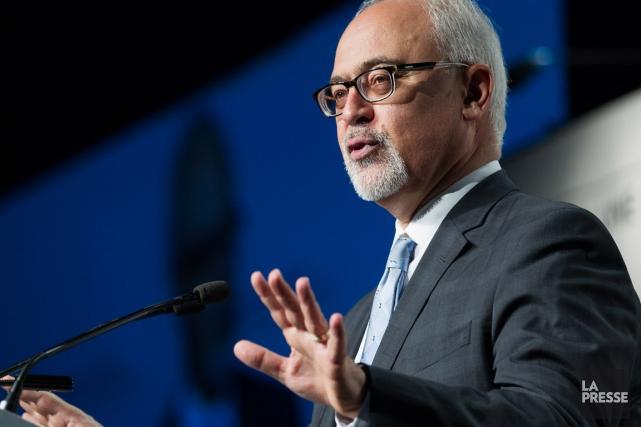 Le ministre des Finances, Carlos Leitao.... (Photo Édouard Plante-Fréchette, La Presse)