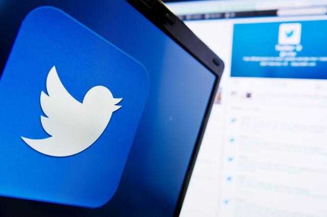 Twitter, qui cherche à accélérer sa croissance et... (PHOTO LEON NEAL, ARCHIVES AFP)