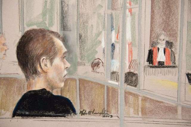 Luka Rocco Magnotta, illustré en janvier 2013.... (PHOTO MIKE MCLAUGHLIN, LA PRESSE CANADIENNE)