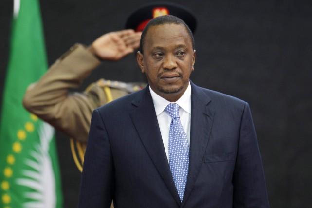 Le président Kenyatta est poursuivi pour son rôle... (PHOTO THOMAS MUKOYA, ARCHIVES REUTERS)