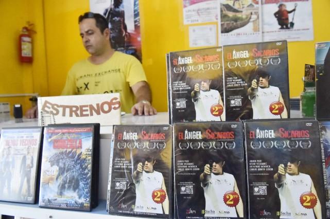 Le «cinéma guérillero» ou amateur connaît un retentissant... (PHOTO RODRIGO BUENDIA, ARCHIVES AFP)