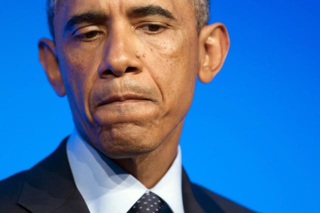 Le président Barack Obama a assuré que l'État... (PHOTO SAUL LOEB, AFP)