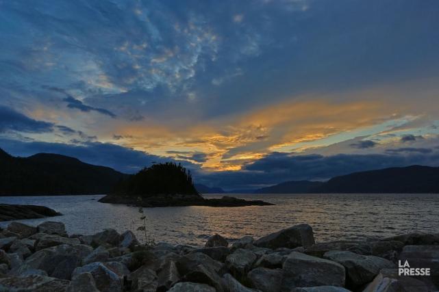 Un incontournable du village de Petit-Saguenay est la... (PHOTO HUGO-SEBASTIEN AUBERT, LA PRESSE)