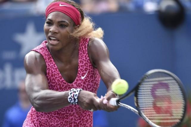 Serena Williams a dominé la Russe Ekaterina Makarova... (Photo USA Today Sports)