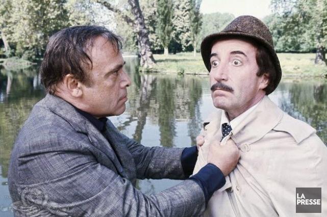 Peter Sellers (à droite) dans The Pink Panther... (Photo Archives La Presse)