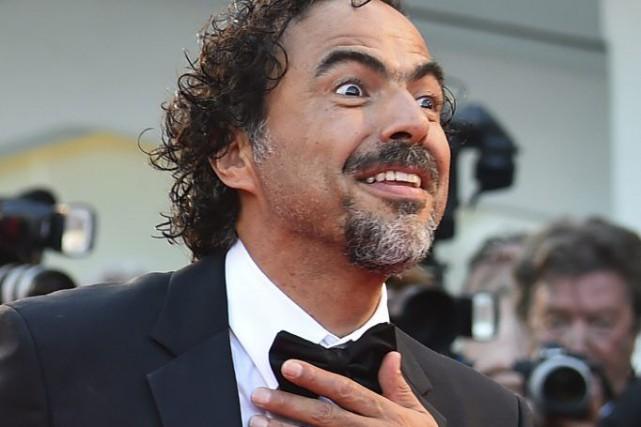 Alejandro G. Iñárritu à la Mostra de Venise.... (PHOTO GABRIEL BOUYS, AFP)