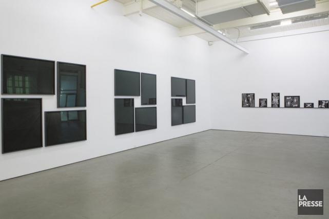 Les oeuvres phares de l'exposition sont un trio... (PHOTO SIMON GIROUX, LA PRESSE)