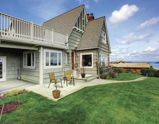 L 39 automne une belle saison pour la peinture anne drolet habitation - Couleur de peinture pour maison exterieur ...