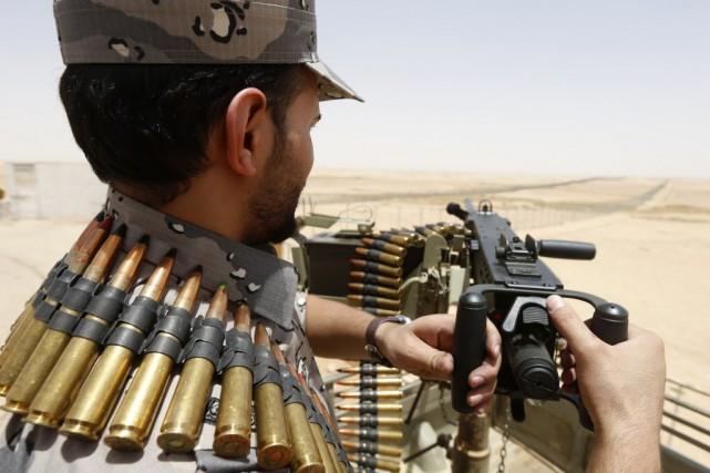 L'Arabie saoudite avait décidé la construction d'une barrière... (PHOTO FAISAL AL NASSER, REUTERS)
