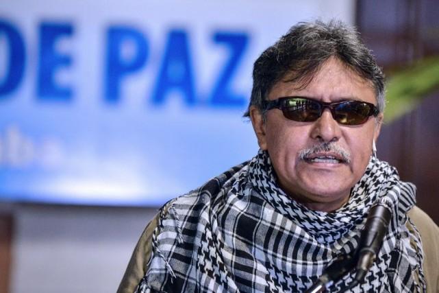 Selon les chiffres officiels, les FARC comptent quelque... (Photo ADALBERTO ROQUE, AFP)
