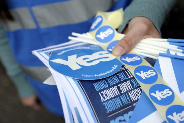 Le référendum sur l'indépendance de l'Écosse se tiendra... (Photo Andy Buchanan, Archives AFP)