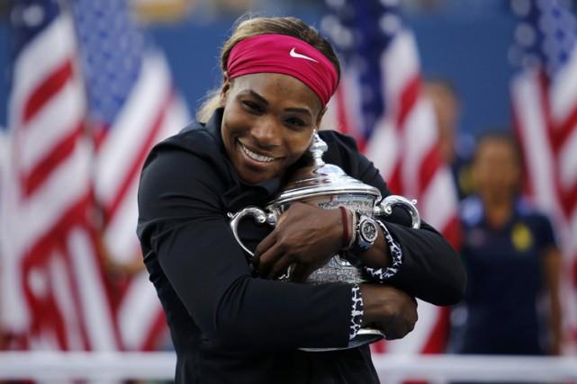 Serena Williams a remporté le 18e titre majeur... (Photo: Reuters)