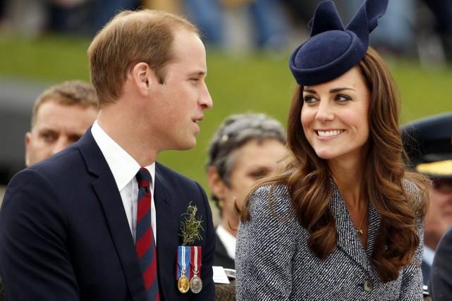 Kate et William sont déjà les parents du... (PHOTO PHIL NOBLE, ARCHIVES REUTERS)