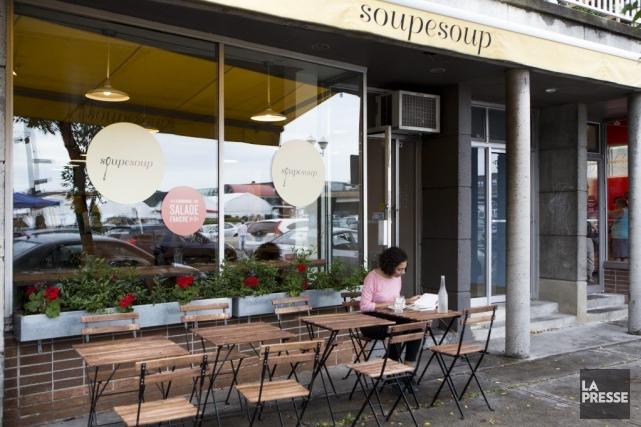 En acquérant 100% du capital-actions de Soupesoup, le... (Photo Simon Giroux, La Presse)