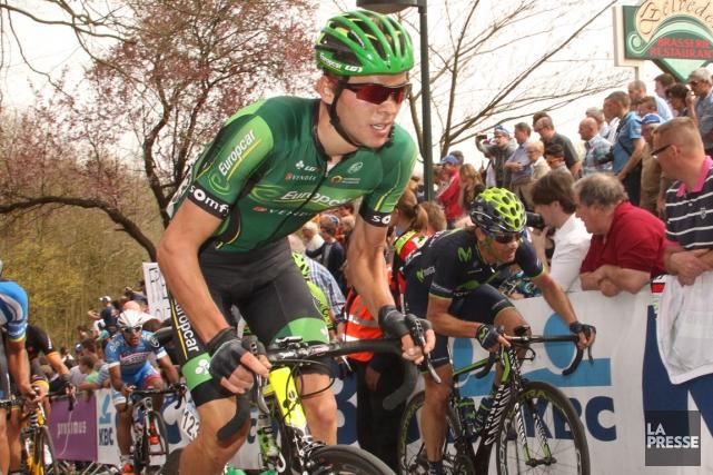 Vendredi, le cycliste Antoine Duchesne célébrera son 23e... (Archives courtoisie)