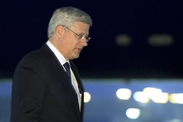 Le premier ministre du Canada, Stephen Harper, consoliderait... (Photo d'archives, La Presse Canadienne)