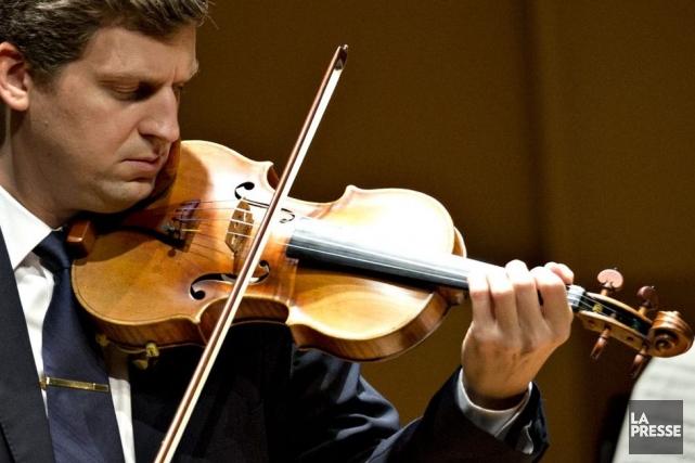 James Ehnes en récital hier après-midi.... (Photo: Olivier Jean, La Presse)