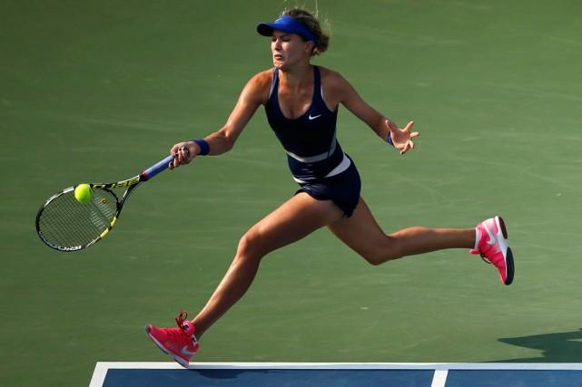 Eugenie Bouchard a atteint le quatrième tour aux... (Photo Eduardo Munoz, Reuters)
