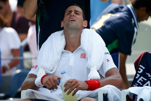 Novak Djokovic... (Photo Mike Segar, Reuters)