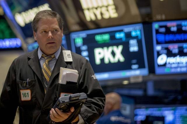 En l'absence d'indicateurs majeurs aux États-Unis, «le marché... (PHOTO BRENDAN MCDERMID, ARCHIVES REUTERS)