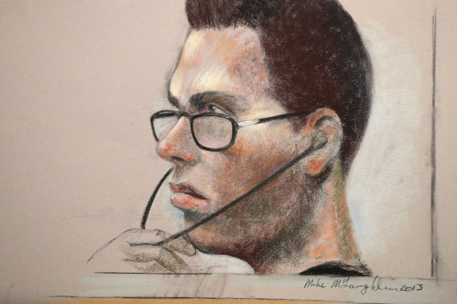 Luka Rocco Magnotta... (ILLUSTRATION MIKE MCLAUGHLIN, PC)
