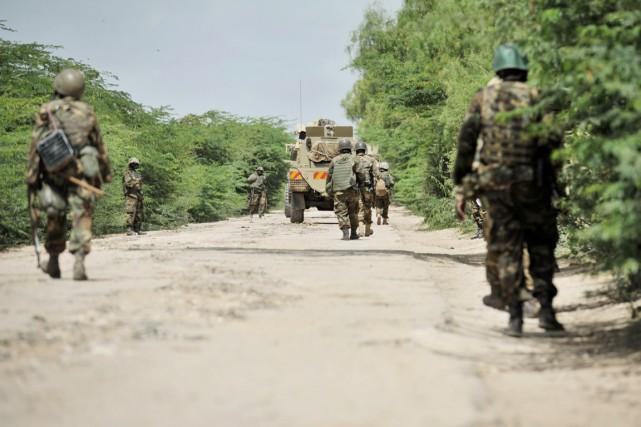 L'AMISOM, déployée depuis 2007 à travers la Somalie... (PHOTO TOBIN JONES, ARCHIVES AFP)