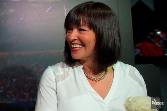 Chantal Petitclerc... (Photo André Pichette, archives La Presse)