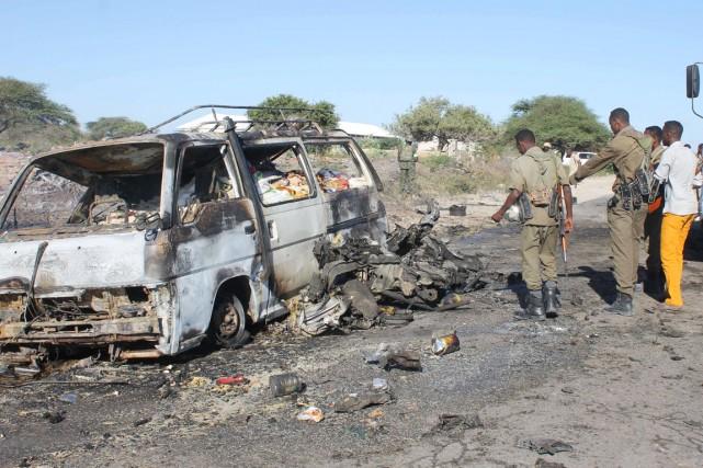 Les islamistes somaliens, qui avaient juré de venger... (PHOTO ABDULFITA HASHI NOR, AFP)