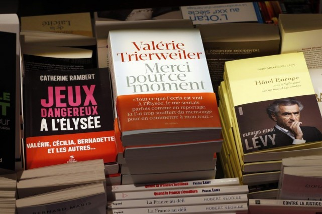 Quelques libraires agacés par le succès de Merci... (Photo: Reuters)