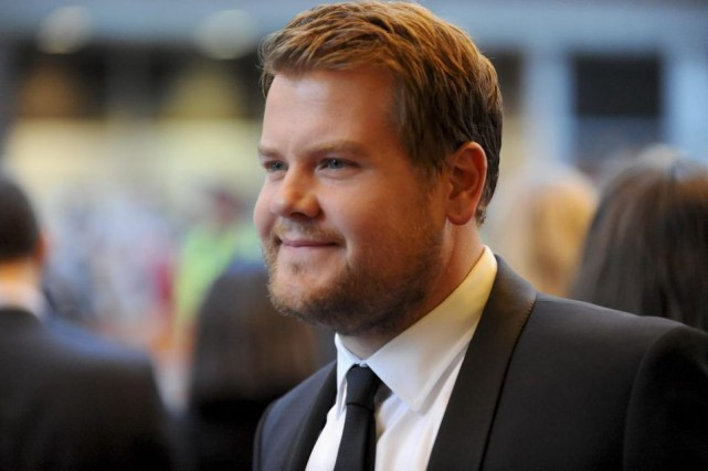 James Corden... (Photo archives Reuters)