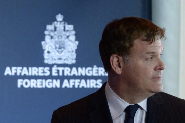 Le ministre canadien des Affaires étrangères John Baird... (Photo Sean Kilpatrick, PC)