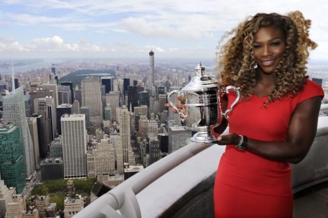 Williams a gagné dimanche son 18etrophée en tournoi... (PHOTO CHARLES KRUPA, AP)