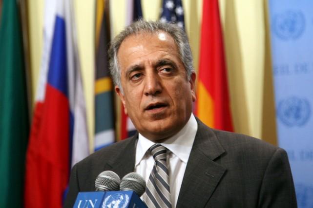 Zalmay Khalilzada occupé le poste d'ambassadeur américain en... (Photo: AP)