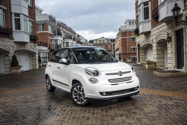 Si la Fiat 500L (photo) est là pour... (Photo fournie par Fiat)