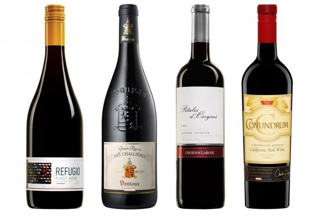 Beaucoup de vins rouges chiliens (la majorité, en fait) se présentent avec des... (Photos fournies par la SAQ)