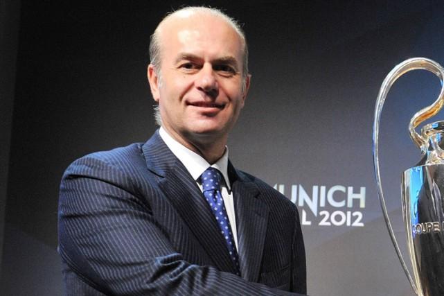 Le vice-président de l'Association européenne des clubs de... (Photo Sebastien Feval, archives AFP)