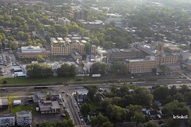 L'hôpital de l'Enfant-Jésus à Québec... (Photothèque Le Soleil, Patrice Laroche)