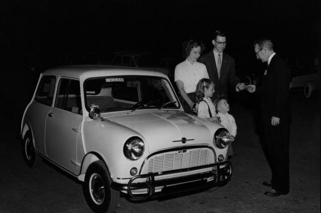 La Mini de première génération (1959).... (Photo fournie par Wikipédia)